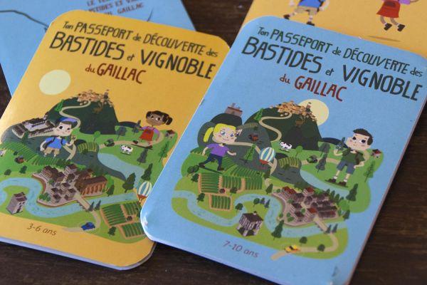 Passeport de découverte des Bastides et Vignoble du Gaillac